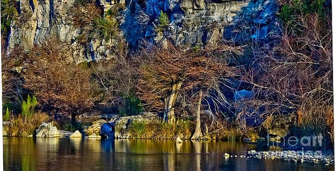 Michael Tidwell - Medina River at Comanche Cliffs