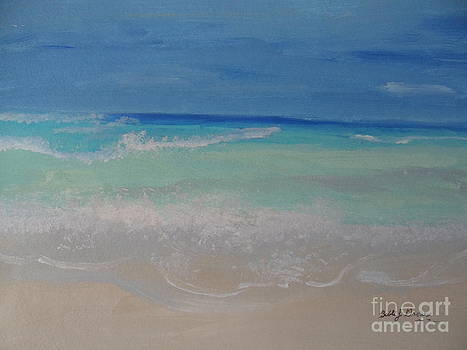 Meditate By The Sea 1 by Bobbi Groves