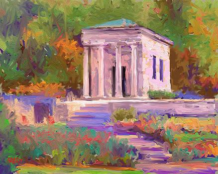 Meditation Chapel by Lynn T Bright