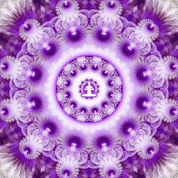 Meditation Galaxy 2 by Derek Gedney