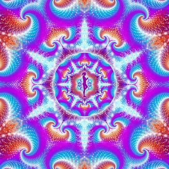 Meditation Galaxy 6 by Derek Gedney