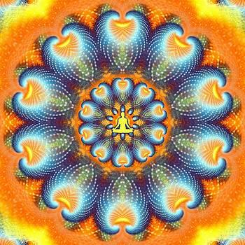 Meditation Galaxy 9 by Derek Gedney