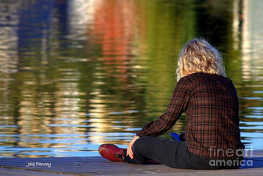 Meditating in Huntsville by Jale Fancey