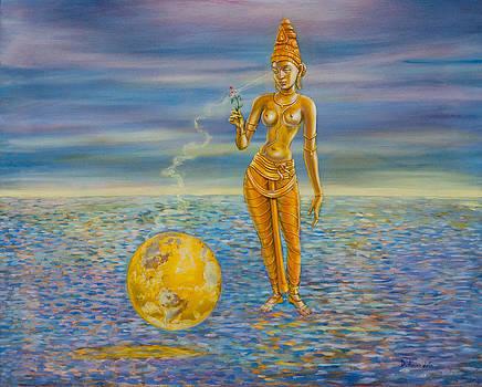 Dominique Amendola - Meditation on Bhumi  The earth goddess