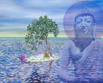 Dominique Amendola - Meditation On Buddha Blue