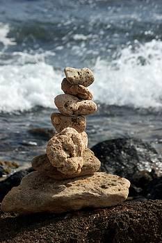 Meditation Rocks by Bonita Hensley
