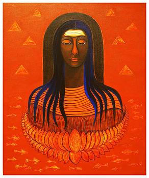 Meditation....Shiva....Lotus by Zakir Shaikh