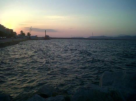 Mediteranean Sunset by Andreea Alecu