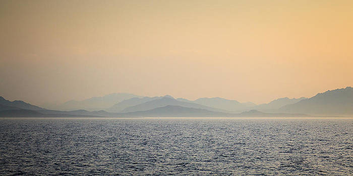 Mediterranean Coast at Dusk by Joshua McDonough