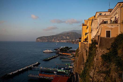 Mediterranean Overlook by Corey Sheehan