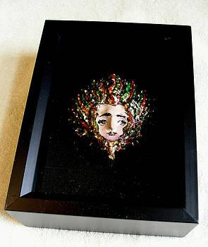 Medusa in a Shadow Box by Roger Swezey