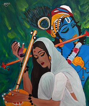Meera - The eternal devotee of Lord Krishna by Apoorv Jain