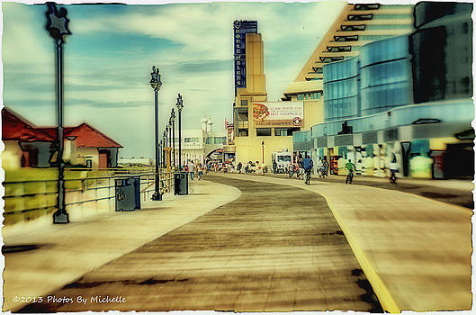 Meet Me at the Boardwalk by Michelle Gross