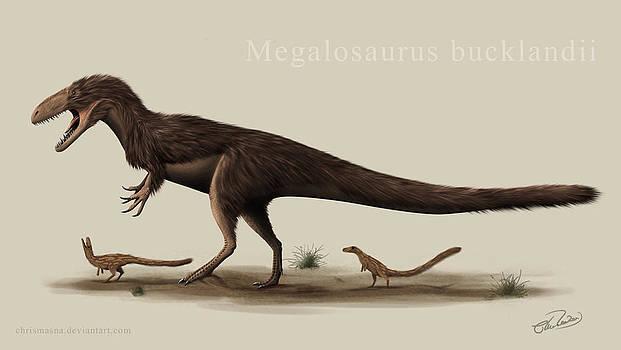 Megalosaurus by Christian Masnaghetti