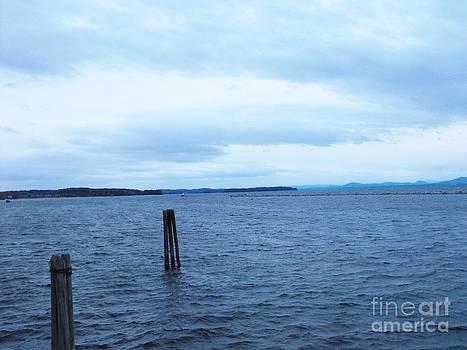 Melancholy at Lake Champlain by Lisa J Gifford