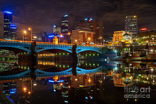 Reflective City by Ray Warren