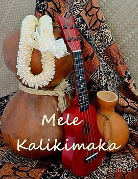 Mary Deal - Mele Kalikimaka with White Ribbon Lei