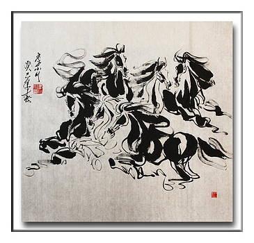Melody Of Movement by Xiaochuan Li