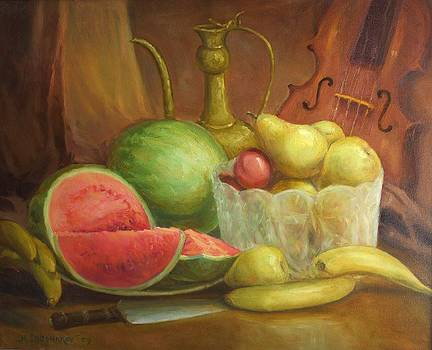 Melody With Fruits by Michael Chesnakov