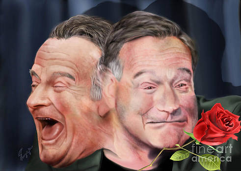 Melpomene and Thalia The duality of Robin Williams by Reggie Duffie