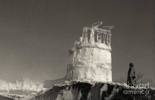 Melting Ice Castle by Andre Paquin
