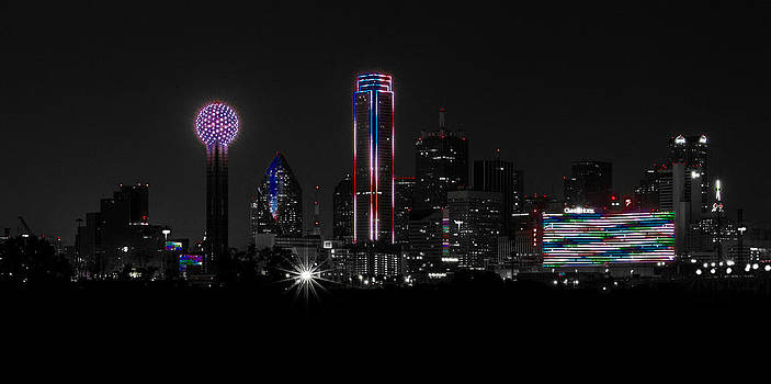 Memorial Day '14- Downtown Dallas Skyline by Christen Weber