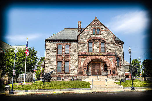 Memorial Hall Milford MA by James Wellman