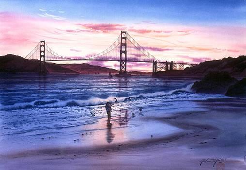 Memory Of China Beach San Francisco by John YATO