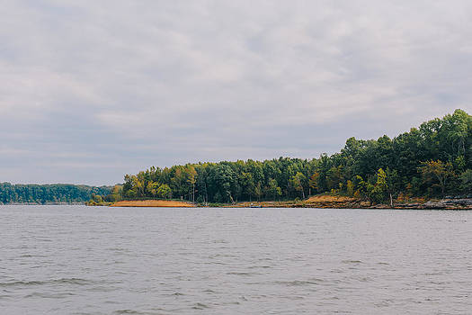 Men Fishing on Barren River Lake by Amber Flowers