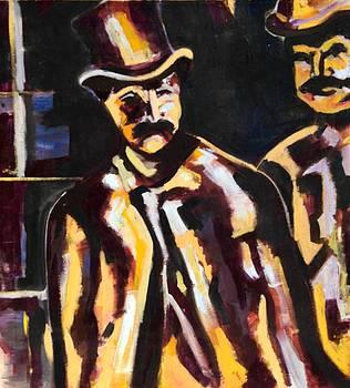Men of Yesteryear by Kendall Wishnick Adams