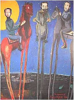 Men On High Horses by Dominic Fetherston