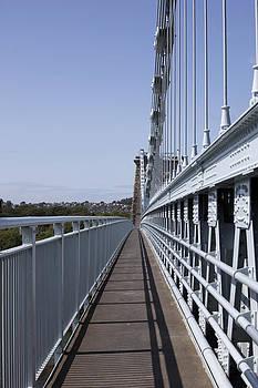 Menai Bridge  by Gillian Dernie