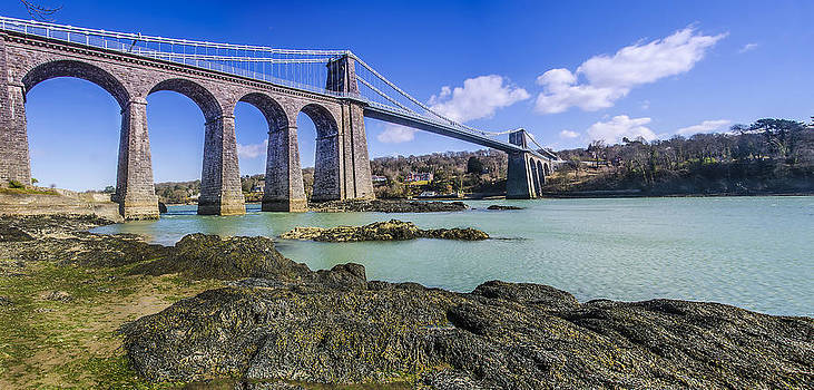 Darren Wilkes - Menai Suspension Bridge