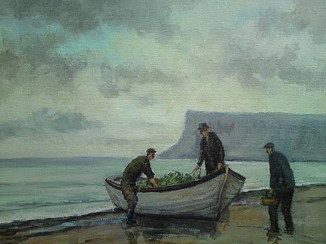 Mending The Nets by Nigel Allison