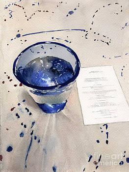 Menu of Blue by Hollis Machala