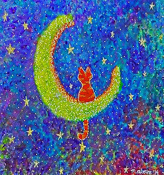 Meow At The Moon by Melissa Osborne