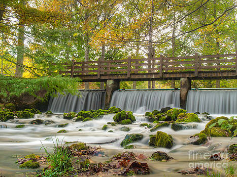 Meramec Spring Waterfall by Shannon Beck-Coatney