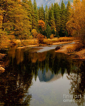 Merced River and Half Dome 2 by Terry Garvin