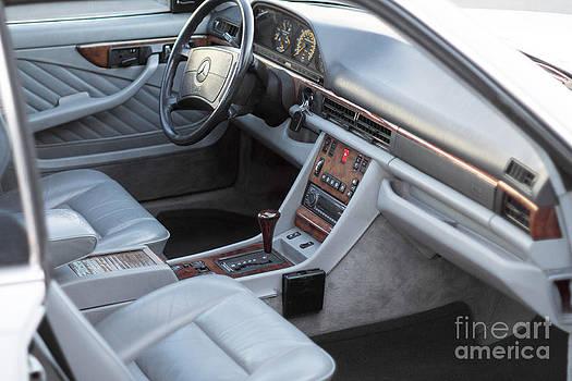 Gunter Nezhoda - Mercedes 560 SEC Interior