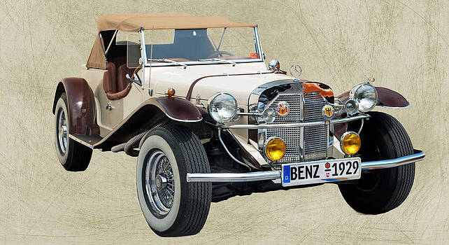 Mercedes Benz 1929 Vintage by Andres LaBrada