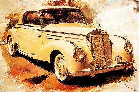 Mercedes Benz 220 by SM Shahrokni