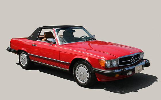 Mercedes Convertible by Al Shields