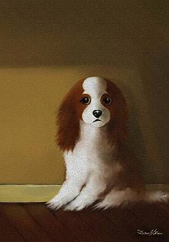 Mercedes - Our Cavalier King Charles Spaniel  No. 3 by Diane Strain