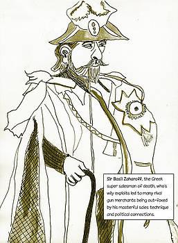 Merchants of Death Sir Basil Zaharoff by Allen Forrest