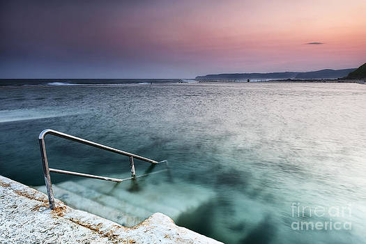 Merewether Steps by Michael Howard