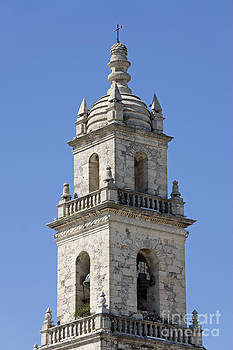 John  Mitchell - MERIDA CATHEDRAL BELL TOWER Mexico