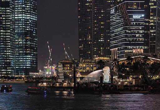 Merlion Singapore by John Swartz