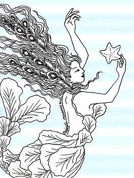 Monique Montney - Mermaid and Starfish