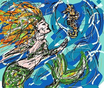 Rachel Scott - Mermaid Asking for Directions