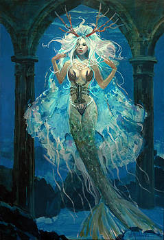 Mermaid Bride by Bill Mather